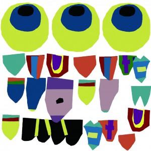 りゅう鯉のぼり布デザイン
